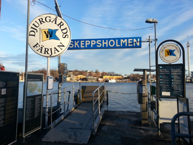 Catch a boat ride to other parts of Stockholm